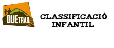 CLASSIFICACIÓ INFANTIL